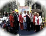 Członkowie zarządu Koła Przyjaciół Fundacji Jana Pawła w NY